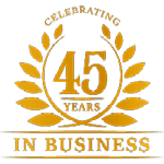 Over 45 years in business
